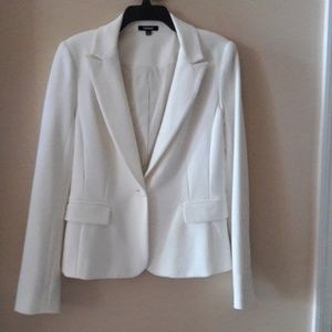 Off White Lined Blazer worn Once